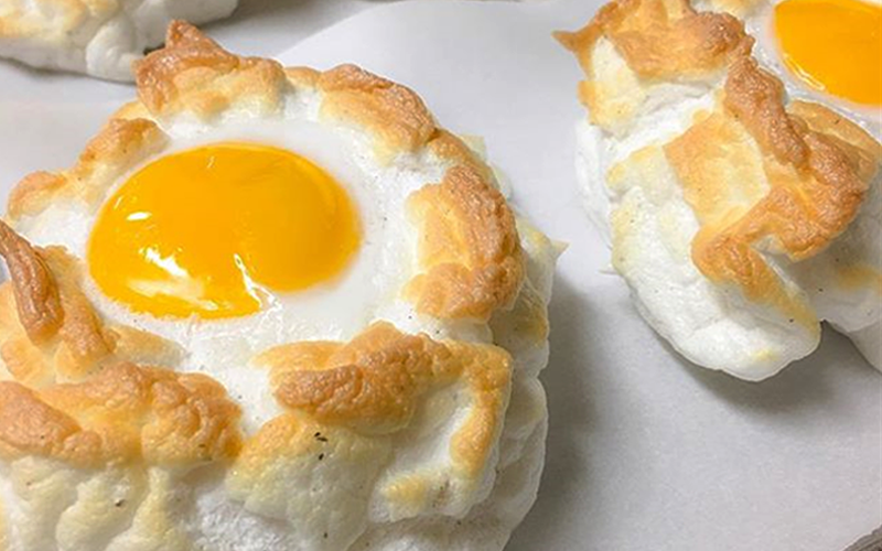 Cloud eggs: the new Instagram food trend
