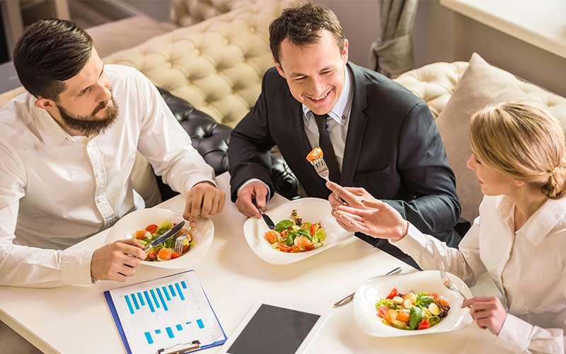Five great Dubai business lunches