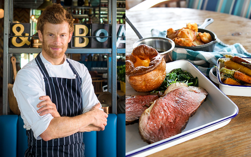Epic new Tom Aikens British roast dinner launches in Dubai