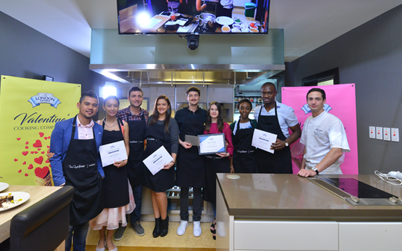 Made with love: London Dairy's Valentine cook off