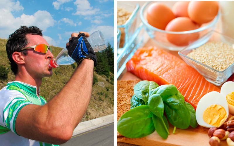 How to eat for a triathlon