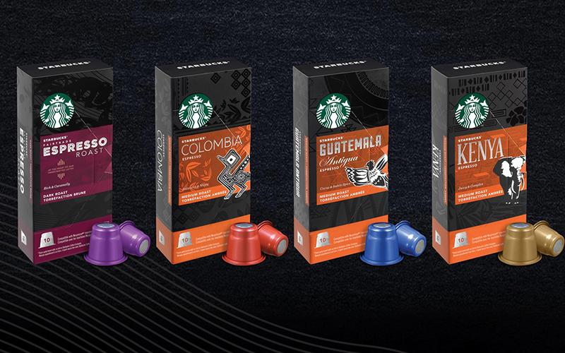 Starbucks launches Nespresso compatible capsules