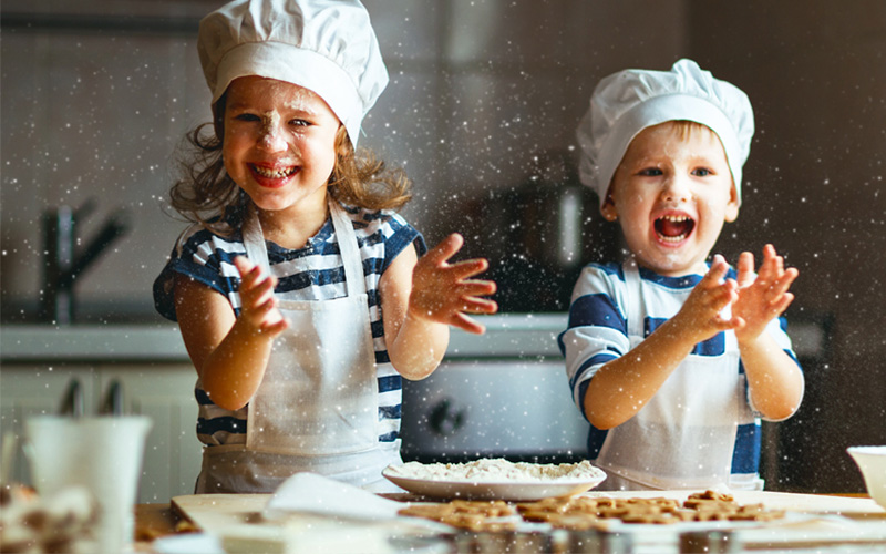 NEW kids' cooking classes in Dubai