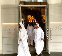 Sheikh Mohammed spotted at newly opened GAIA Dubai