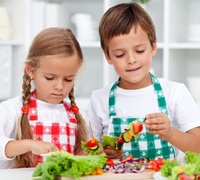 Five healthy food tips for raising kids in the UAE