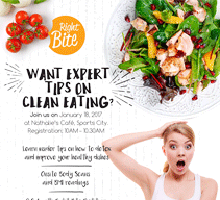 Food club detox event with Right Bite