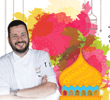An Arabic-themed Food Club event with Chef Colin Clague