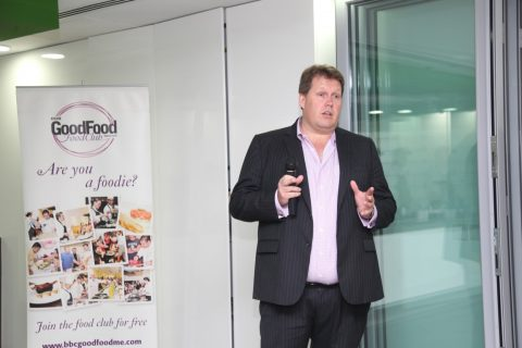 Food Club masterclass at Spinneys with chef Mark Ward