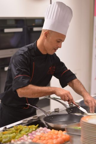 Premium Food Club Cooking Class with chef Hicham Salami at Miele