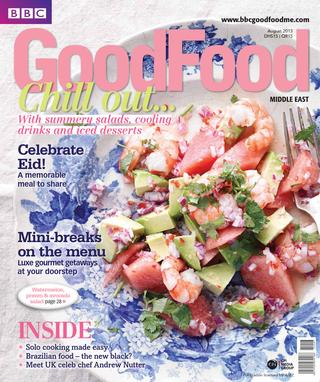 BBC Good Food ME – 2013 August