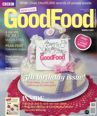 BBC Good Food ME – 2012 October