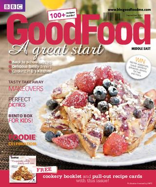 BBC Good Food ME – 2011 September