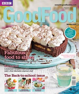 BBC Good Food ME – 2013 September