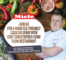 A Diabetes Friendly Cooking Demo with Chef Christopher Kinsley from Flow Restaurant