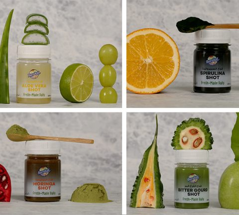 Smart snacks: These all-natural juice shots are the perfect quick fix