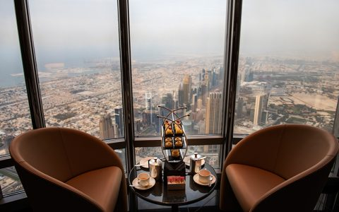 You can now dine at the world's highest lounge in Dubai