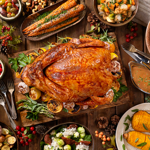 Win a takeaway turkey with all the trimmings for up to 10 servings from Sheraton Grand, worth AED 690!
