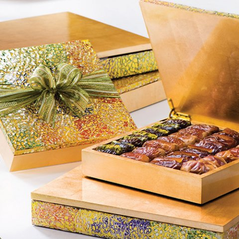 Win an abstract wooden box from Bateel, worth AED520!