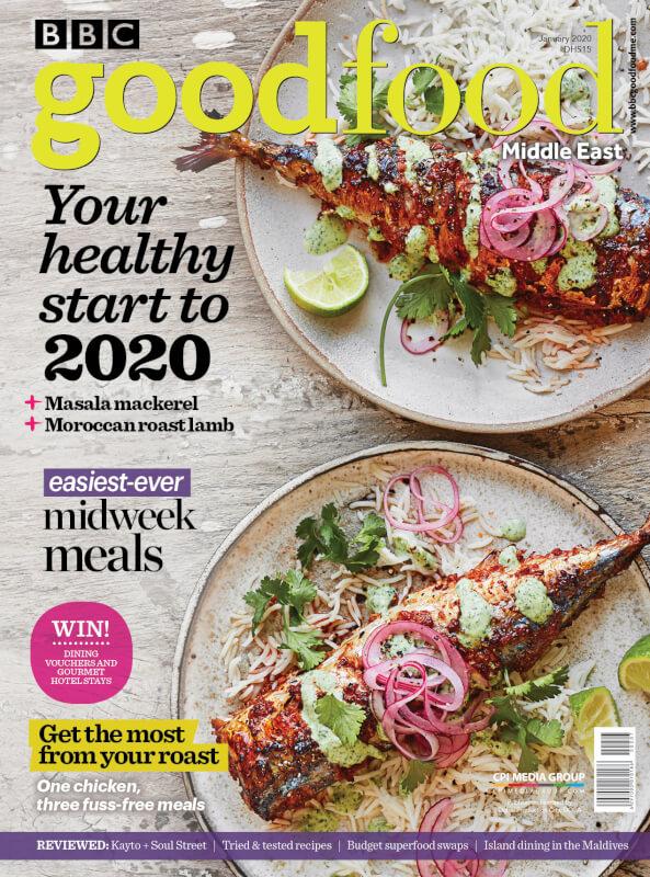 BBC Good Food ME – 2020 January