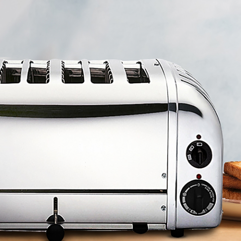 April Star letter competition: Win a Dualit 6 slot Toaster worth Dhs999 from Tavola!