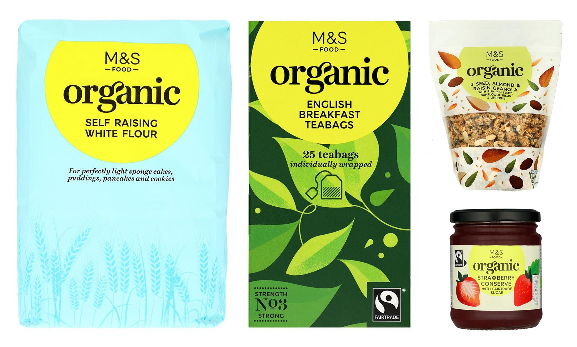 Marks & Spencer's Organic food