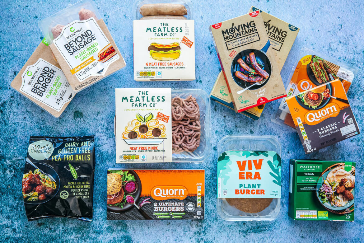 Spinneys vegan products