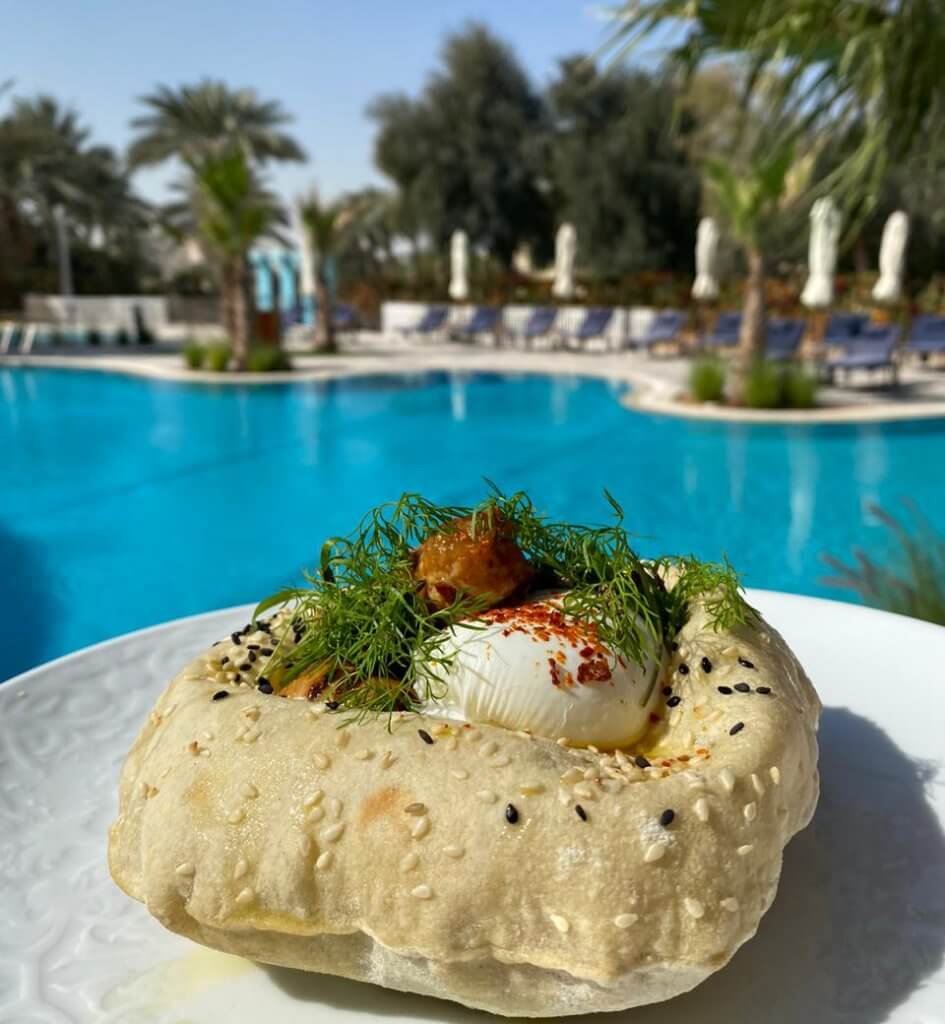 The Pangolin Els Club breakfast