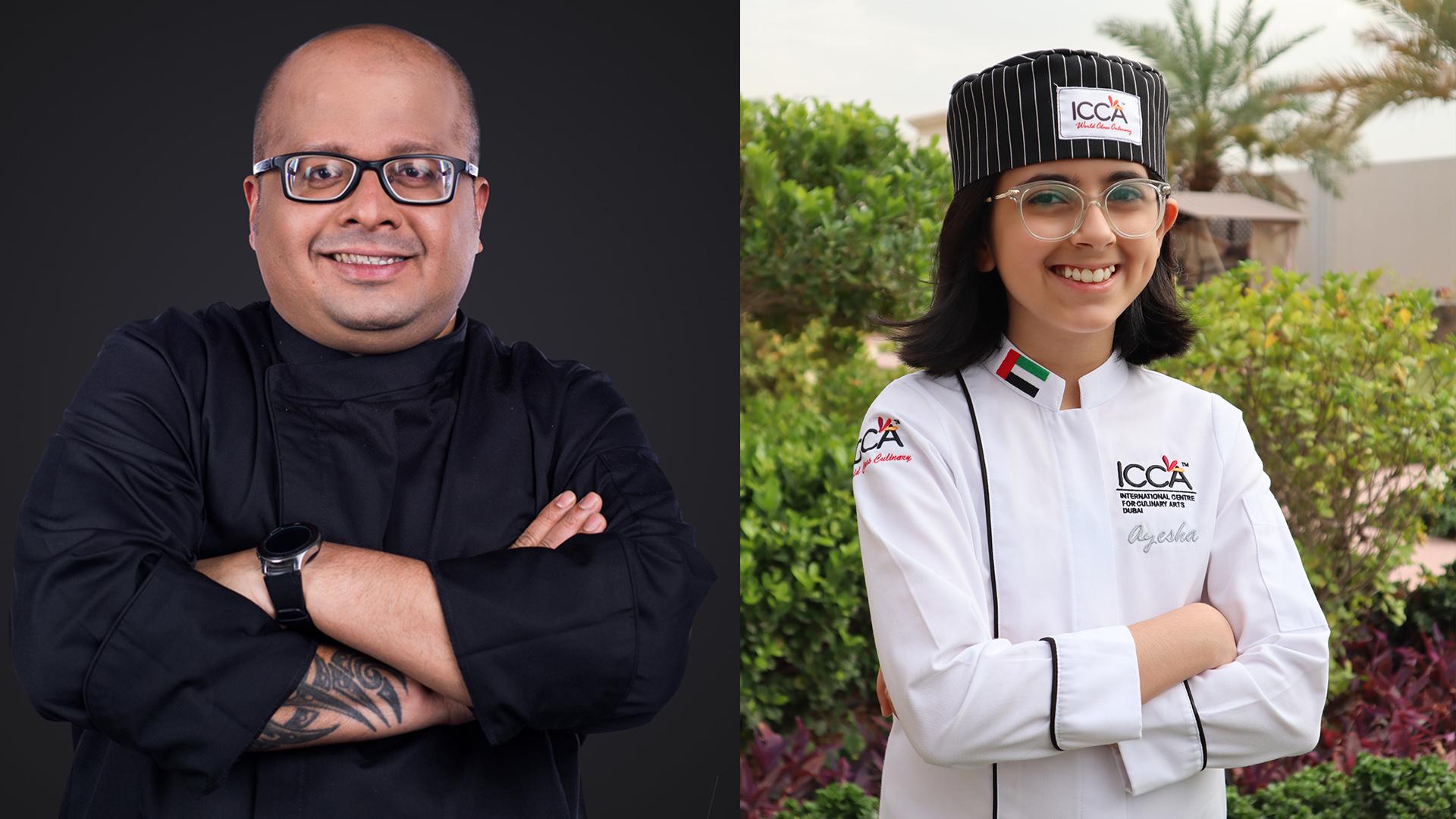 Chef Aysha Al Obeidli and Chef Sandeep Ali