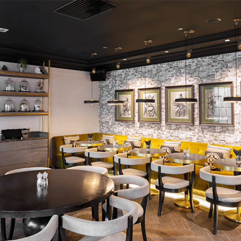 A MEAL FOR TWO AT THE ELOQUENT ELEPHANT WORTH AED500