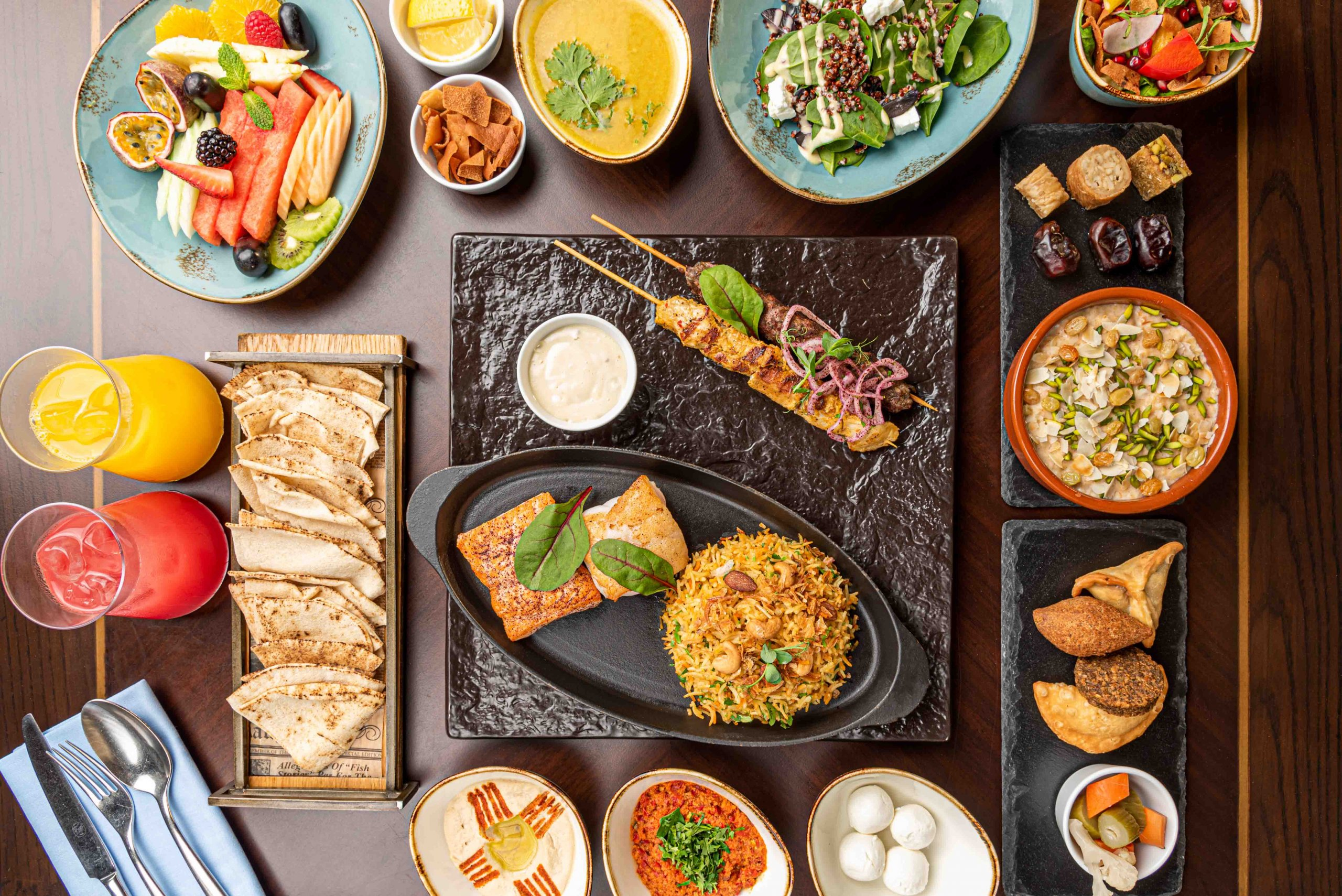 Iftar at Shore House, Ritz-Carlton Ras Al Khaimah, Al Hamra Beach