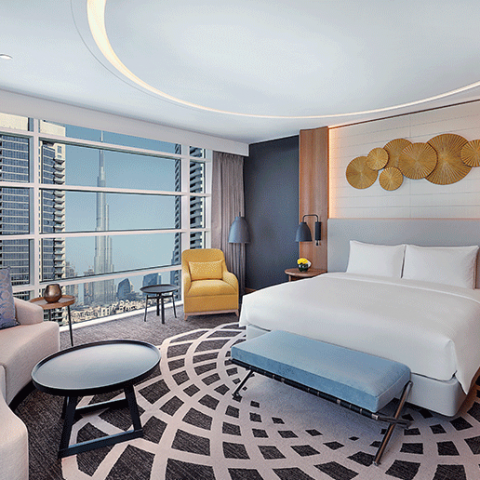 A NIGHT'S STAY AT DOUBLETREE BY HILTON – DUBAI BUSINESS BAY WORTH AED650