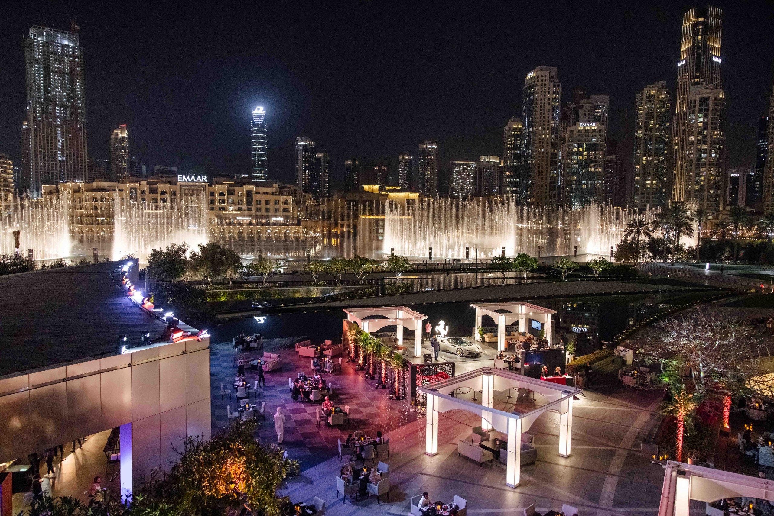 Armani/Pavilion, Armani Hotel Dubai